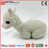 Het super Zachte Gevulde Dierlijke Stuk speelgoed van de Alpaca van de Pluche voor Jonge geitjes/Kinderen