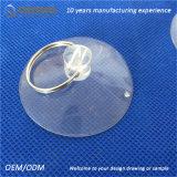 Qinuo 25 mm de large ventouse en plastique transparent avec crochet en métal