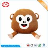 원숭이에 의하여 채워지는 장난감 견면 벨벳 주문 자석 재미있은 아이 선물 베개