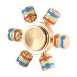 Portée de Main de gyroscope spirale amovible 6 Avertisseur lumineux de la main de métal Spinner