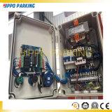 Duas colunas verticais de estacionamento do carro Elevador Elevadores Estacionamento Simples