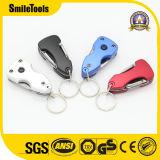 Multi Keychain kampierendes faltendes Messer und Schraubenzieher mit Öffner