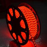 luz de tira del color los 60LED/M LED de 5050SMD RGB con el regulador
