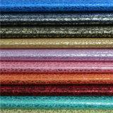 良質の環境の合成物質PUの装飾的な革