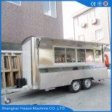 YS-Fv450A 4,5 m de acero inoxidable Cocina Rodante Catering Carros en venta