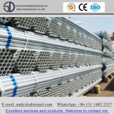 La ronda previa de tubos de acero galvanizado para materiales de construcción