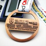 Medalla de encargo de la concesión del deporte del efecto del corte del bronce de la antigüedad del metal de Jiu-Jitsu