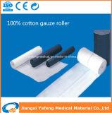 Rolo 100% elevado da gaze do algodão absorvente do algodão