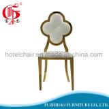 Cadeira de sala de jantar com design novo estofado para hotel