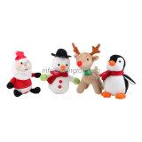 昇進の祝祭のギフトのクリスマスの装飾によって詰められる柔らかいプラシ天のおもちゃ