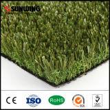 Более дешевая Multicolor искусственная трава без песка для Landscaping сад