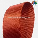 1,5 polegadas Sarjado Orange-Red tecido de nylon de travamento lateral