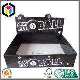 Складывая коробка коробки индикации шипучки гофрированной бумага с рассекателем