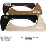 Copo Noguchi mesa de café com haste de madeira