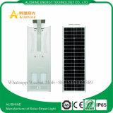 5 años de garantía IP65 impermeable al aire libre todo en una luz solar integrada solar de la luz de calle LED (5W a 120W)