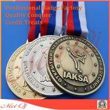 Funzionamento di abitudine/sport/oro/dorato/maratona/premio/medaglia militare con il nastro
