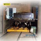 De grote staal-Baar Elektrische Aanhangwagen van de Spoorweg met het Opheffen van Platform