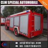 Горячая пожарная машина порошка пожарной машины воды Dongfeng 4000L