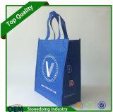 カスタムロゴの順序のFoldableより安い価格の非編まれたショッピング・バッグ