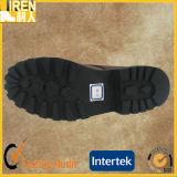 La buena calidad del grano superior de cuero botas de combate militar