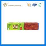 El lujo diseñó el rectángulo de papel acanalado para el juguete de los niños (Brown el papel de la E-flauta de 3 capas)