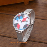 Het Horloge van de mooie Bevallige Vrouwen van het Kwarts met de Riem Fs577 van het Roestvrij staal