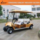 カスタムゴルフ車、カスタマイズされた電気ゴルフカート、ホテルの電気ゴルフカート、4人の電気金車