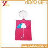 Gift de Van uitstekende kwaliteit van Keychain van de Gelaatsuitdrukking van pvc van de douane (x-y-u-86)