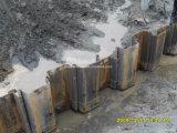Pilas de hoja de acero de Lassen que llenan con las pilas de la esquina de la buena calidad