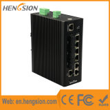 3 Schakelaar van de vezel en de Industriële Beheerde van het Netwerk Ethernet van 2 Gigabit SFP
