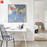 Het mooie Olieverfschilderij van het Af:drukken van het Canvas van de Decoratie