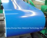 Bobine en acier du matériau PPGI/PPGL de couleur de bobine d'acier inoxydable