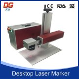 Máquina óptica portable 20W de la marca del laser de fibra de la venta caliente