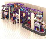 Equipamento interno do campo de jogos do tema do espaço do divertimento do elogio