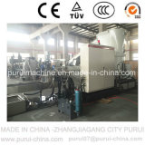 Agglomerator (PURUI)를 가진 폐기물 PE Film Plastic Recycling Pelletizing Machine
