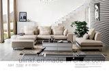 Ledernes Wohnzimmer-Möbel-Ecken-Ausgangssofa (UL-NSC030)