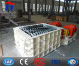 Diente doble rodillo Trituradora / maquinaria de trituración de piedra de Brown de carbón de lignito