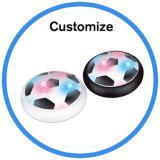 Balón de fútbol seguro de interior de la libración del balón de fútbol de la potencia de aire LED del Light-up de la diversión