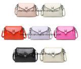 Het beste en Goedkoopste Kleurrijke Leer van de Manier Pu Dame Handbag