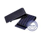 Clips colorés d'argent de pochette de Mens de promotion de fibre en gros d'Aramid avec le logo fait sur commande 2017