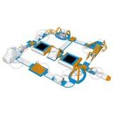 Parque de flutuação inflável comercial gigante da água para o adulto