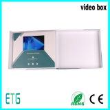 7 polegadas tela TFT LCD Luxo Digital Video Cards Folheto e Gift Box
