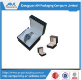 Mayorista de cajas de reloj personalizado reloj de papel de verificación de los casos para los hombres de regalo.