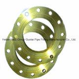 Bride plate d'en cuivre d'ajustage de précision de pipe