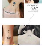 Модный временно стикер Tattoo искусствоа стикеров Tattoo