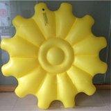Feiertags-Familien-Pool Belüftung-aufblasbarer Strand-Sonnenblume-Gleitbetrieb