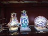 Luz LED 3D con cubierta de vidrio