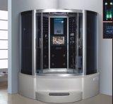 1500mm Sauna a vapor com Jacuzzi e Tvdvd (A-G9051TVDVD)