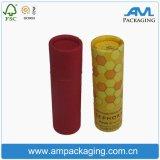 Imballaggio cinese della scatola di il tè della carta kraft della scatola di il tè del tubo del cilindro di carta di stampa