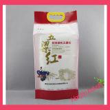 Saco de plástico personalizado do saco de plástico do arroz/do alimento do saco empacotamento plástico